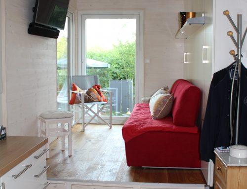 Impressionen des ausgelieferten smarten Tiny Houses